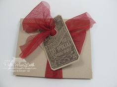 Tag Box by Patimac1980 - Cards and Paper Crafts at Splitcoaststampers