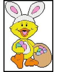 Bunny Ducky With A Basket