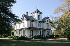 The Aycock Plantation  1870 Victorian - Italianate  Wedgefield, South Carolina