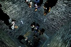 SATURDAY, MARCH 11: AUSTIN, TEXAS  -    Attendees experience the Infinity Room installation at the South by Southwest (SXSW) Music Film Interactive Festival in Austin, Texas, on March 10, 2017.