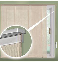 Roller Shades On A Patio Door Sliding Glass Door Window