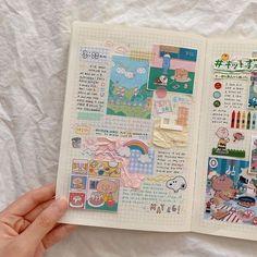 Bullet Journal Writing, Bullet Journal Notes, Bullet Journal Aesthetic, Bullet Journal Spread, Bullet Journal Layout, Album Journal, Scrapbook Journal, Journal Notebook, Cute Journals