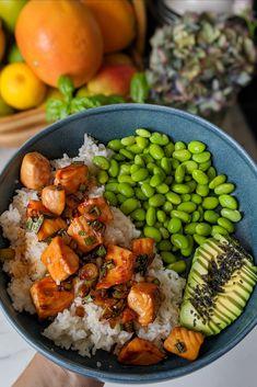 Healthy Meal Prep, Healthy Snacks, Healthy Eating, Vegetarian Recipes, Cooking Recipes, Healthy Recipes, Cod Recipes, Manger Healthy, Plats Healthy