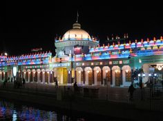 Indian pavillion at the Global Village in Dubai.