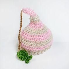"FREE SHIPPING - Gone Fishin' Crochet Baby Girl Hat - Light Pink, White, Tan, Light Green Coupon code ""Pin10"" saves you 10%! #christmas #gift #giftguide #giftsforher #crochet #etsy #yarn"