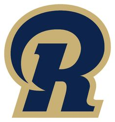 St. Louis Rams Alternate Logo (2000) - Blue R containing ram horn with ...