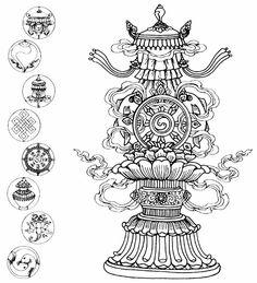 noble-eight-symbols-of-buddhism.jpeg 818×900 pixels