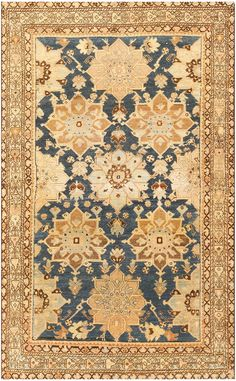 Antique Persian Malayer Carpet 48100 Main Image - By Nazmiyal