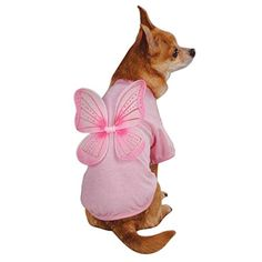 East Side Collection Polyester/Cotton Fairy Dust Dog Tee, Medium, Pink ** New and awesome dog product awaits you, Read it now : Dog Shirts Dog Accesories, Accessories, Small Dog Clothes, Dog Jacket, Dog Costumes, Medium Dogs, Fairy Dust, Dog Dresses, Dog Coats