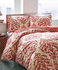 Another great find on #zulily! Imperial Medallion Duvet Cover Set by City Scene #zulilyfinds