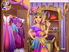 Rapunzel' s Closet - Juegos de Tangled Rapunzel