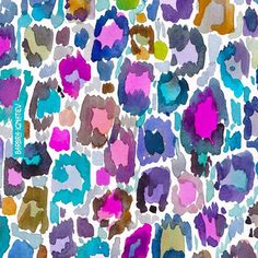 Who invited the leopard to the color party? I did! #download today's #dailycolor ifneedb.com/dailycolor #art #watercolor #bohemian #boho #california #wanderlust #oakland #sanfrancisco #dscolor #dshappy #surfacedesign #print #pattern #barbraignatiev #wildandfree #wildatheart #colorful