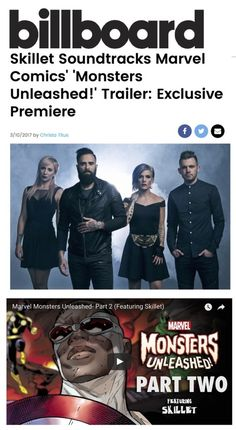 """Marvel+Comics'+Monsters+Unleashed!+Trailer+Uses+Skillet's+""""Back+From+the+Dead""""+As+Soundtrack"""