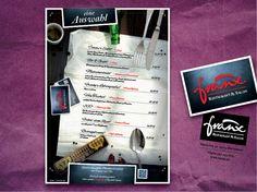 franx Menükarte + Stempel // Mai 2014
