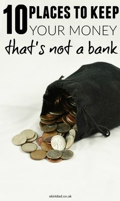 Although a bank can keep your money safe, with low interest rates, they are not the most sought after place to leave your money. Where else can you hide your savings away? Ways To Save Money, Money Tips, Money Saving Tips, Money Hacks, How To Hide Money, Frugal Living Tips, Frugal Tips, How To Start A Blog Wordpress, Savings Bank