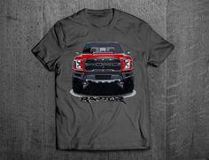 F150 Raptor shirt, Ford truck shirts, Ford F150 t shirt, truck shirts, men t shirt, women shirts, cars shirts Truck funny shirts, Raptor SVT by MotoMotiveInk on Etsy