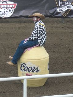 Rodeo Clowns Rodeo Entertainer On Pinterest Rodeo