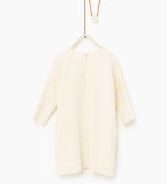 ZARA - KIDS - Embroidered yoke dress