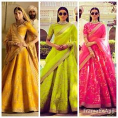 Phantom Silk Wedding Lehenga with heavy zari embroidery . Comes with matching phantom silk blouse. Lehenga Size upto 42 Blouse size upto 46 Perfect to wear as a wedding guest . Perfect for bridesmaid . Indian Attire, Indian Wear, Indian Dresses, Indian Outfits, Indian Clothes, Floral Lehenga, Green Lehenga, Silk Lehenga, Lehnga Dress