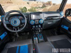 2012 Jeep Wrangler Apache Interior