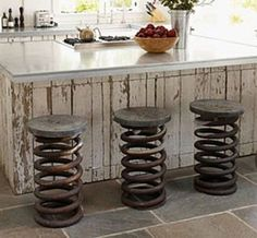 Unusual Kitchen Stool Designs To Be Used As Focal Points