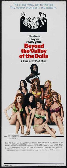 Beyond the Valley of the Dolls, Russ Meyer, 1970 (Written by Roger Ebert)