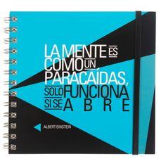 Cuaderno con frase original - Einstein Albert Einstein, Productivity, Original Quotes