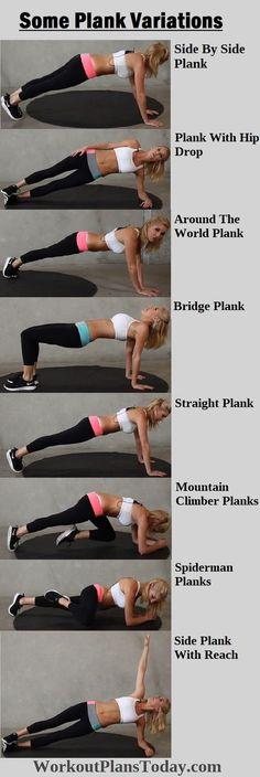Fitness Motivation : Aqui ficam várias sugestões de Pranchas ;) Aproveita!
