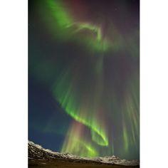 Aurora Borealis over Iceland by Jónína G Óskarsdóttir