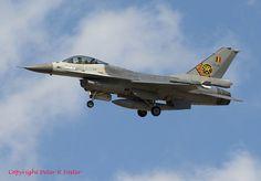 Lockheed Martin F-16AM FA118 31 Sqn Bel AF 18-05-16