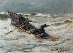 "William Scott Hodgson,  ""The Rowing Boat"""