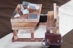 DIY pupitre d'école au 19 e siècle avec maquette à monter