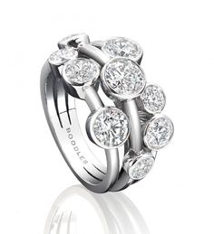 Raindance Medium Diamond Ring