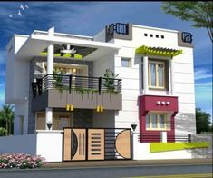 Turn Your Uppal House into an Entertainment Zone is part of Small house elevation design - House Front Wall Design, Two Story House Design, Single Floor House Design, Bungalow House Design, Small House Design, Modern House Design, Model House Plan, Indian House Plans, House Design Pictures