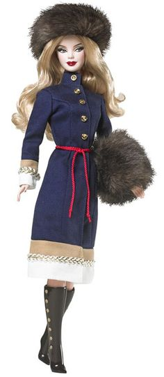 Russia Barbie Doll via Carolyn PRESCOTT