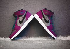 free shipping dba7e 480f8 Nike Air 1 Retro High GG Mulberry. Available now. http   ift