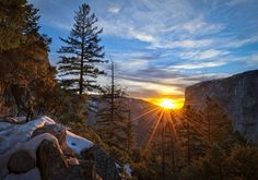 Sunset On The 4 Mile Trail - Yosemite    500 Pix http://500px.com/photo/30978077?from=popular