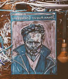 55 отметок «Нравится», 1 комментариев — Ragni Uribva (@ragniuribva) в Instagram: «Johan August Strindberg 22 January 1849, Stockholm #strindberg #swedishliterature #writers…»