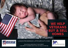 We help Veterans Buy and Sell Real Estate. Proudly Serving those who Serve. How can we help? Contact and Search with us today. LindstromRadcliffeGroup.com #livinlrg #LindstromRadcliffeGroup #realtor #VeteranLedBusiness #KW
