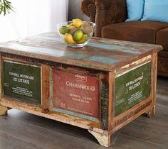 Stolik kawowy / skrzynia Coffer - Stoliki i ławy - zdjęcia, pomysły, inspiracje - Homebook