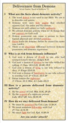 deliverance from demons prayer - Yahoo Image Search Results Bible Study Notebook, Bible Study Tools, Scripture Study, Bible Scriptures, Bible Quotes, Bible Doctrine, Beautiful Words, Spiritual Warfare Prayers, Spiritual Growth