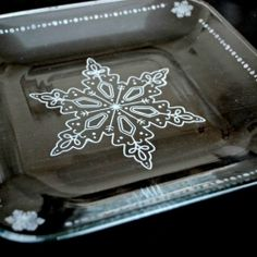 This easy to make, elegant holiday tableware is sure to add a festive touch to your table all winter long.  Tutorial provided.