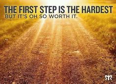 Running: First Step is the Hardest