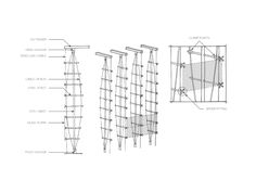 Mast Truss | Enclos Facade Engineering, Glass Building, Space Frame, Glass Facades, Detailed Drawings, Timber Flooring, Facade Architecture, Wall Spaces, Steel Frame
