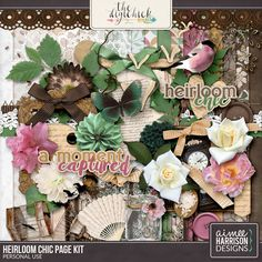 Heirloom Chic Page Kit