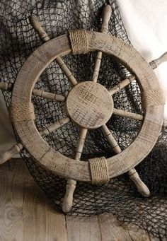 20.00 SALE PRICE! Emulate the ambiance of the high sea in your home with this vintage helm. The Wood Ship Steering Wheel is the perfect accent piece for your...