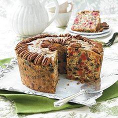 Old Fashioned Fruitcake Recipe | MyRecipes.com Food Cakes, Cupcake Cakes, Cupcakes, Fruit Cakes, Christmas Desserts, Christmas Treats, Christmas Cakes, Christmas Fruitcake, Christmas 2019