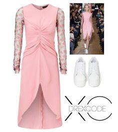 Pink Ladies! Ecco un esempio delle favolose stampe dal sapore pop, di bocche con labbra carnose di Antonio Marras! Rent the look--> http://drexcode.com/prodotto/abito-con-spacco-anteriore/ #drexcode #luxuryrent #specialevents