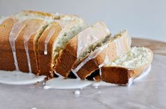 Vanilla Lime Poundcake recipe by How Sweet It Is