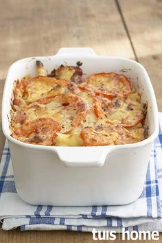 Macaroni-en-kaas Veggie Recipes, Dessert Recipes, Cooking Recipes, Yummy Recipes, Recipies, Desserts, South African Recipes, Ethnic Recipes, Pasta Dishes